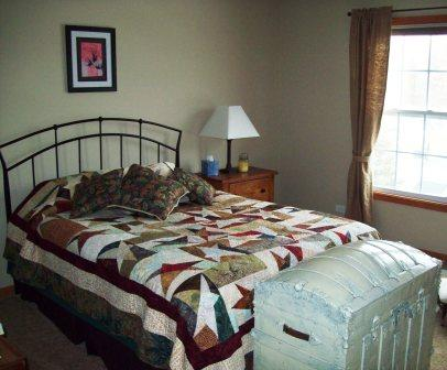 Guest bedroom: After