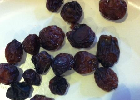 Ah, Mr. Raisin, are you ready for your extreme close-up?