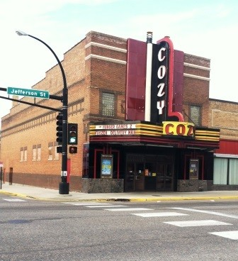 "Insiders know this theater simply as ""The Cozy."""