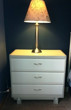 Nightstand: After