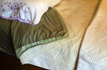 two top sheets