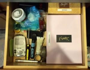 Junk drawer: After