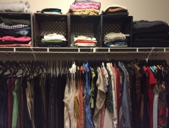 Clothes Closet After