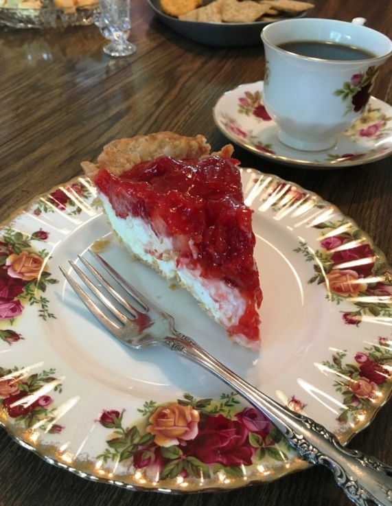 strawberry rhubard pie