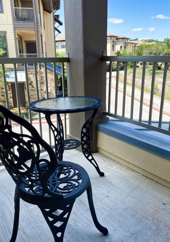 back deck settee