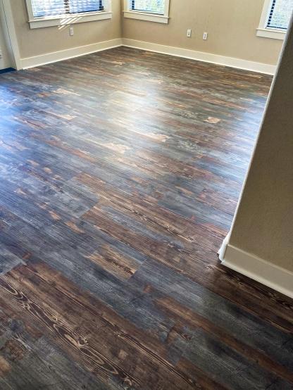 condo flooring after